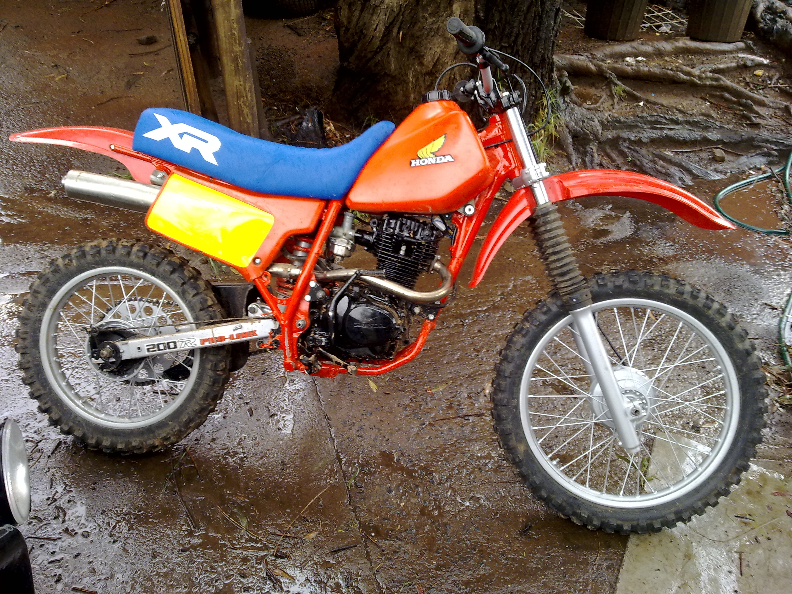 1996 Xr200 Decals