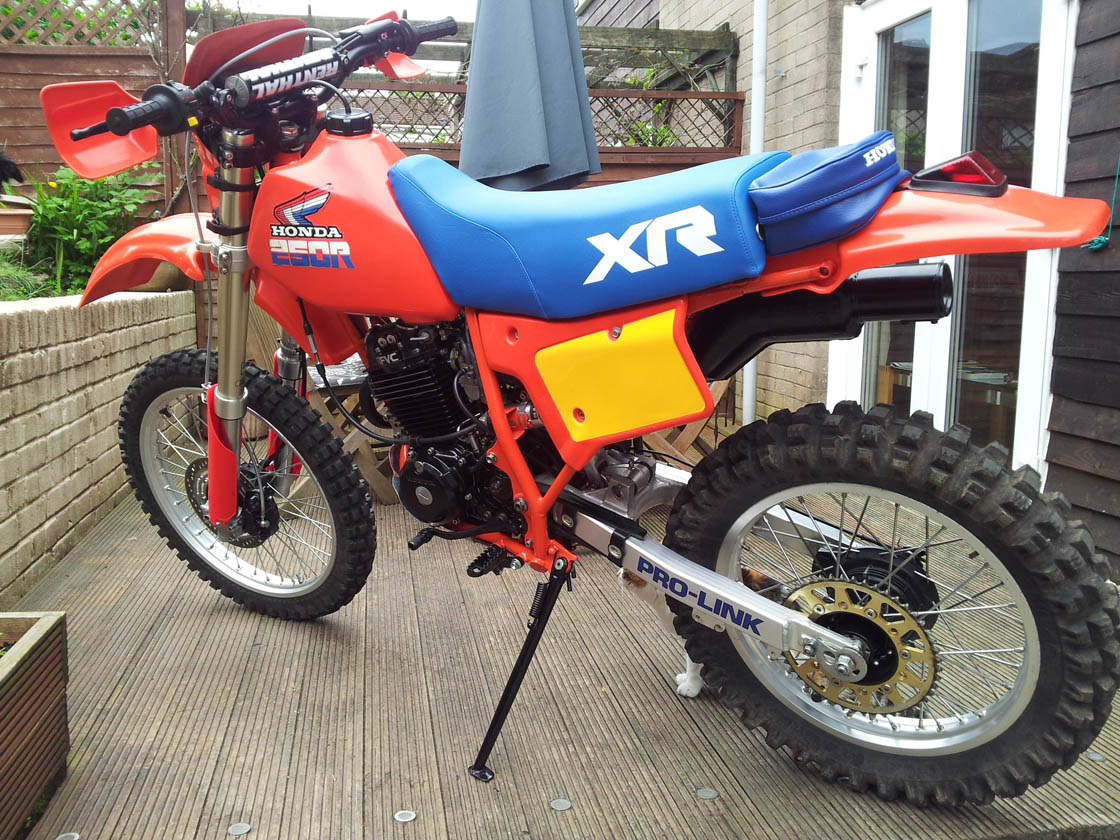 1984 Honda XR 250-new project-full restoration! - Page 2